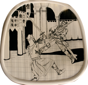 Il duello di Rodomonte e Ruggero